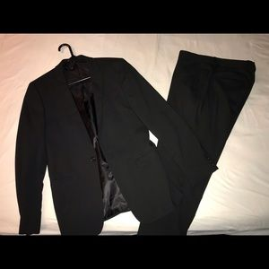 Skinny fit black suit from ASOS